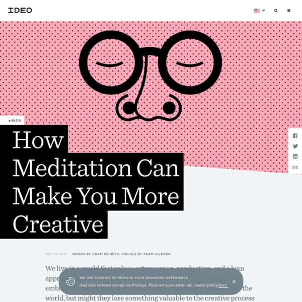 How Meditation Can Make You More Creative