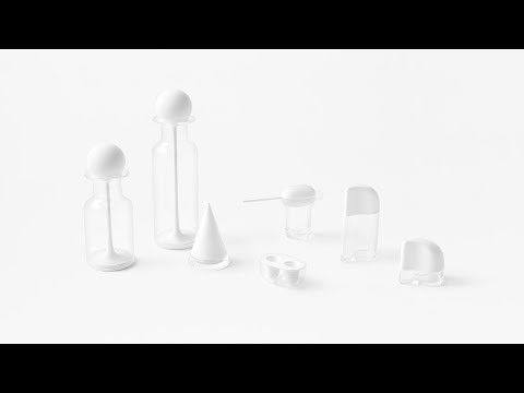 Nendo creates kitchenware lids that imitates hand movements