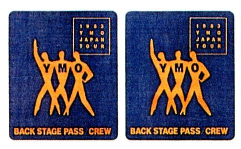 YMO Backstage Pass