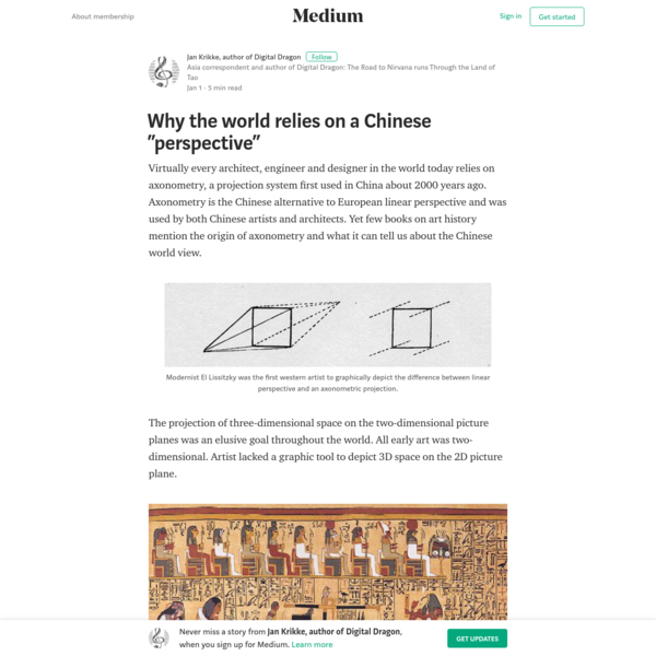 "Why the world relies on a Chinese ""perspective"" - Jan Krikke, author of Digital Dragon - Medium"