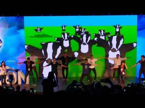 Ethereum Founder Vitalik doing the Badger dance
