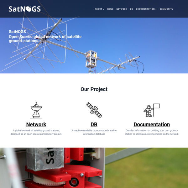 SatNOGS : Open Source global network of satellite ground-stations