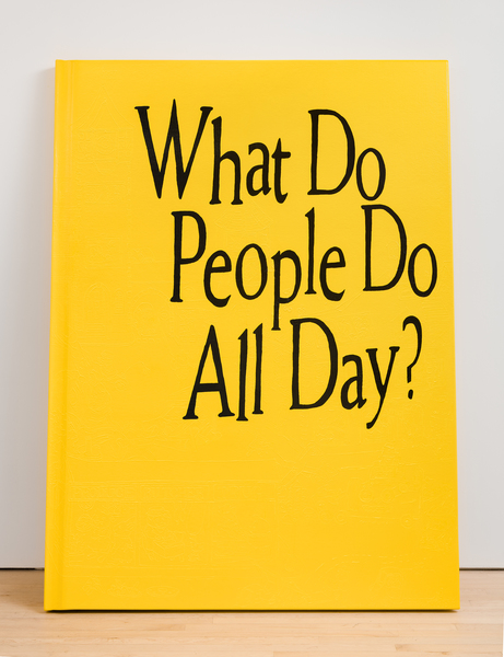 Borna Sammak, Not Yet Titled (What Do People Do All Day), 2018