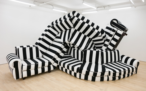 Borna Sammak, Not Yet Titled (Couch), 2018