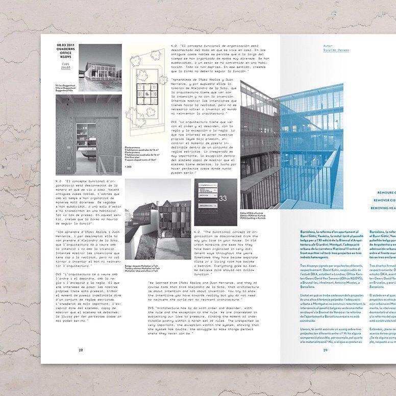 Quaderns #261 #architecture #magazine #barcelona #hamburg #berlin #twopointsnet