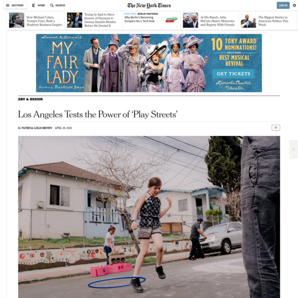 Los Angeles Tests the Power of 'Play Streets'