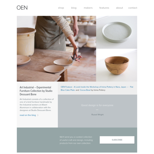 OEN - Design and Handcrafted Goods