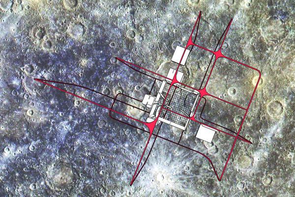 ZHOU_Midterm II_site plan with backdrop