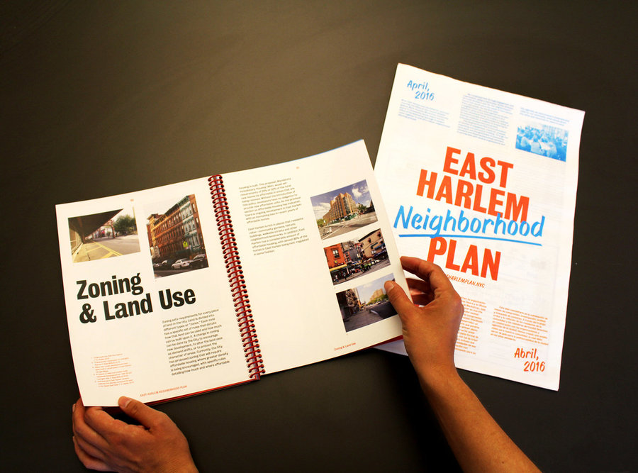 In 2014, mayor Bill de Blasio identified East Harlem as an area to be rezoned as part of his affordable housing plan. In response, The East Harlem Neighborhood Plan formed as a community-based vision and strategy for the future of the Manhattan neighborhood. After a community process involving local residents, businesses, and stakeholders, the current version of the East Harlem Neighborhood Plan (EHNP) was presented to the community and submitted to the NYC Department of City Planning and other City agencies in February 2017.  Project:[East Harlem Neighborhood Plan](http://www.eastharlemplan.nyc/) Year: 2017 Location: New York, NY  Image credit: [WXY architecture + urban design](https://www.wxystudio.com)  Presented at [IdeasCity Detroit](http://www.ideas-city.org/ideascity-detroit/public-conference/about/)