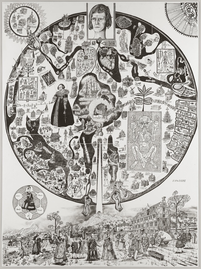 Map of Nowhere – Grayson Perry