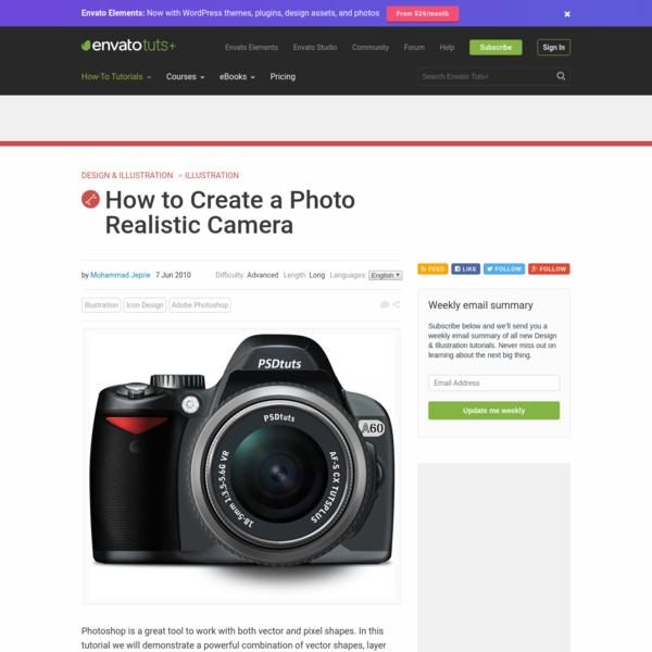 How to Create a Photo Realistic Camera