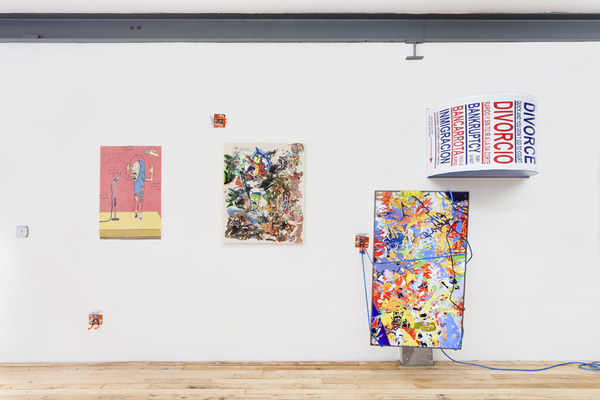 "2014.03 Borna Sammak : All Dogs Are Pets, Installation view, ""All Dogs Are Pets"", JTT, New York, 2014"