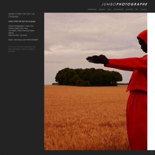 Jumbo Photographe | Fashion Photography