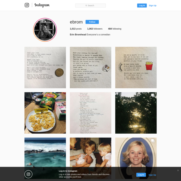 Erin Bromhead (@ebrom) * Instagram photos and videos