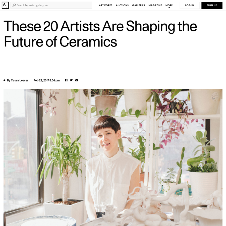 Artists and artisans working with ceramics have steadily contributed to the art world for centuries. From prehistoric pottery to ancient Greek amphoras, from the rise of porcelain in Asia and Europe to the Arts and Crafts movement in England and the U.S., ceramic traditions have long fascinated artists and infiltrated their practices.