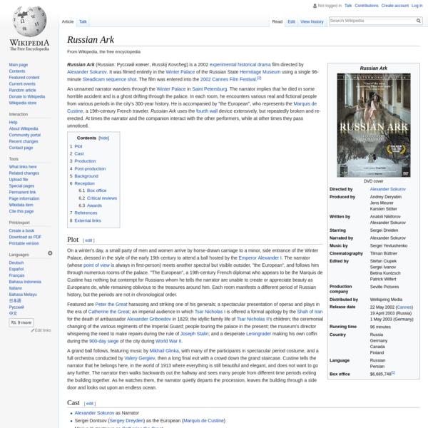 Russian Ark - Wikipedia