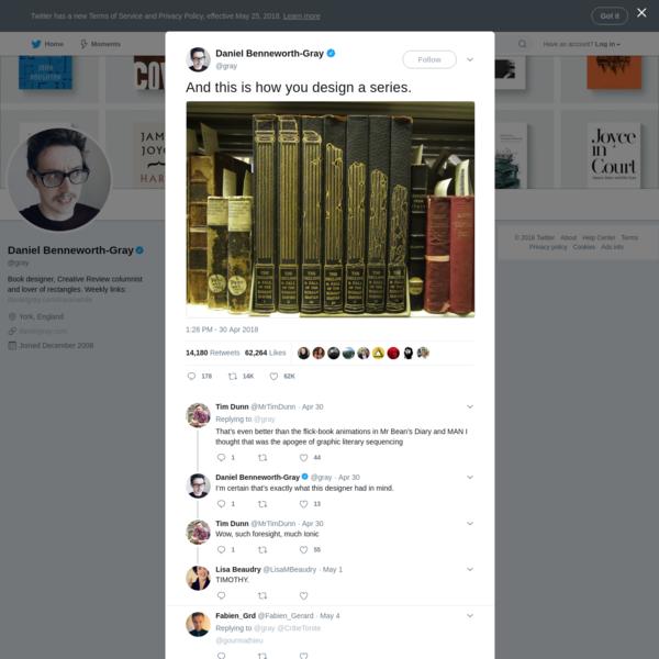 Daniel Benneworth-Gray on Twitter