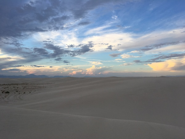 photo of White Sands, New Mexico  (📸: Catherine Schmidt)