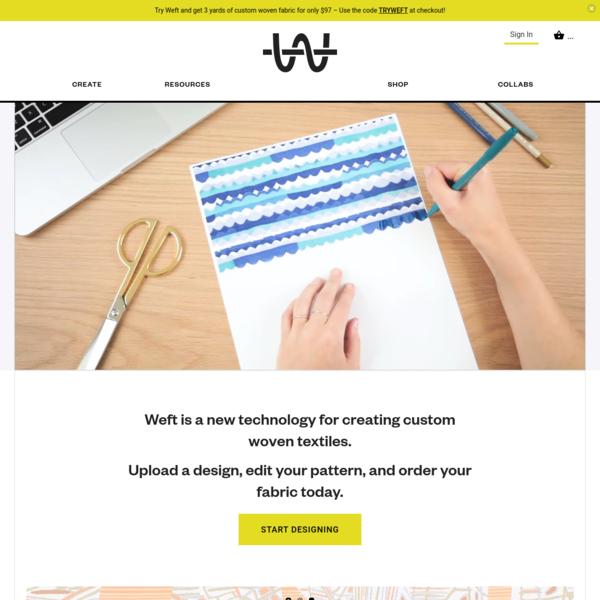 Weft | Custom Woven Textiles