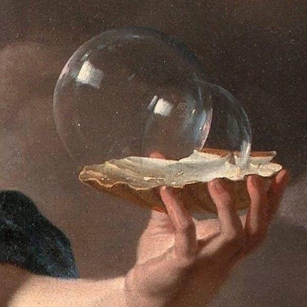 Karel Dujardin, Allegory on the Transience of Life (detail)