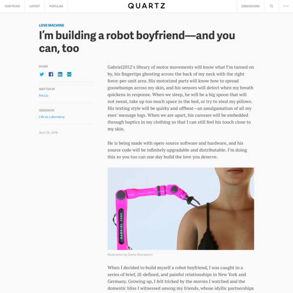 I'm building a robot boyfriend-and you can, too