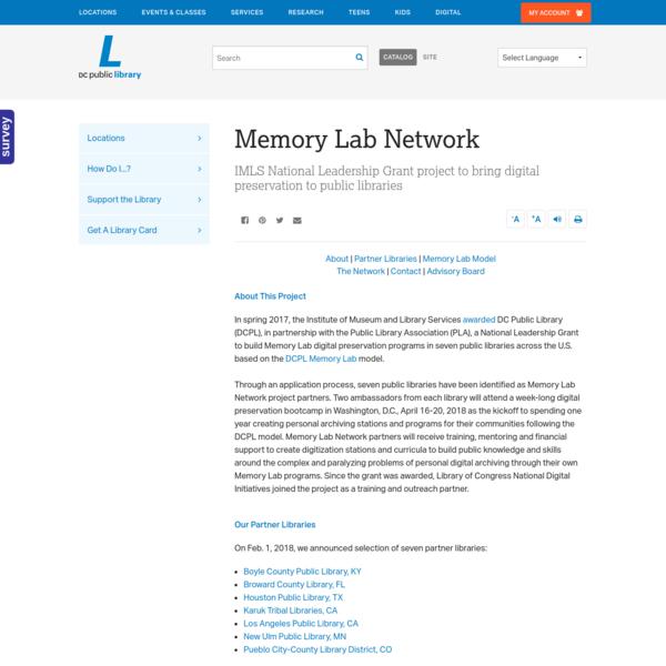 Memory Lab Network