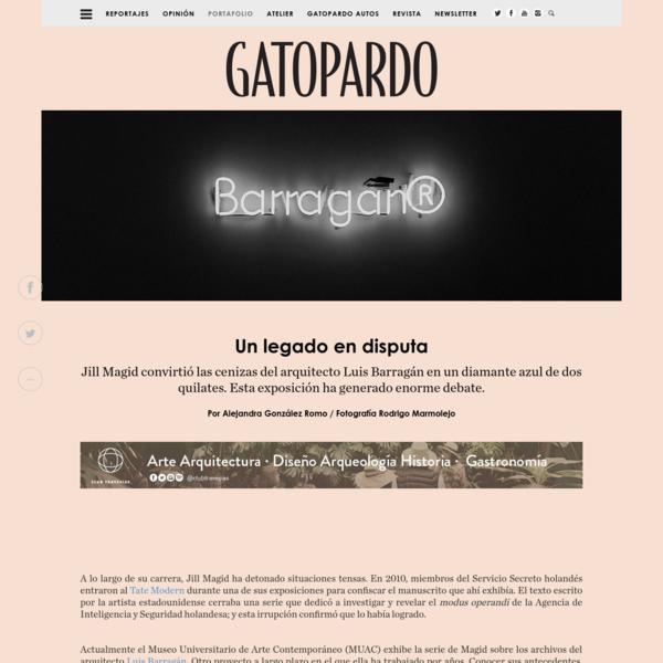 Jill Magid y la disputa por el legado de Luis Barragán