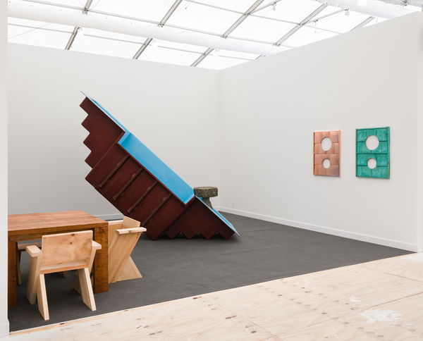 Charles Harlan, Frieze New York, 2018