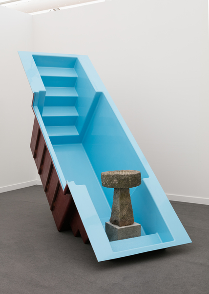 2018.05 Charles Harlan: Frieze New York, Birdbath, 2018