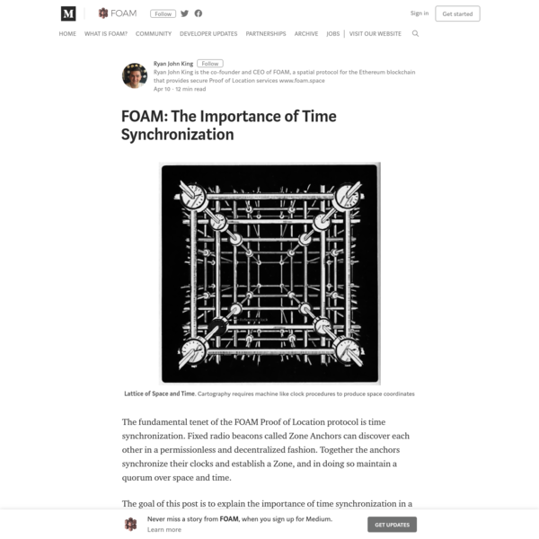FOAM: The Importance of Time Synchronization - FOAM