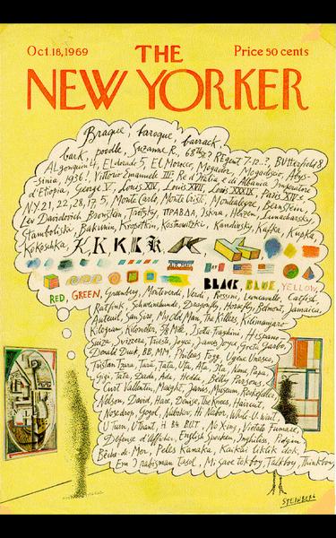 Saul Steingberg New York Cover