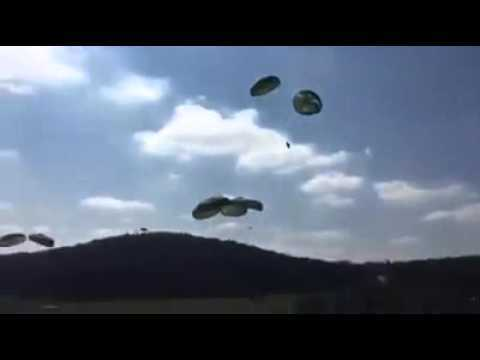 Humvees failed airdrop