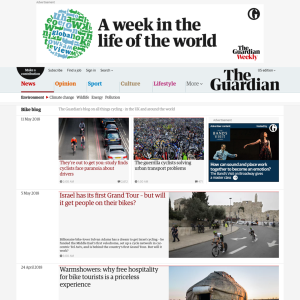 Bike blog   Environment   The Guardian