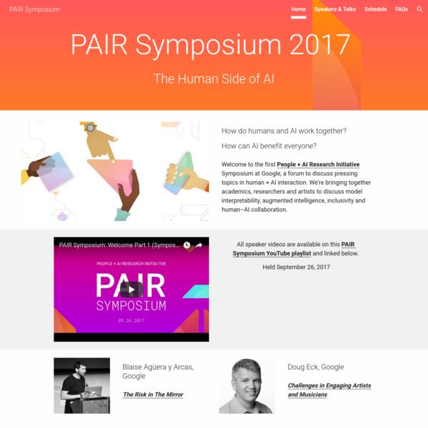 PAIR Symposium