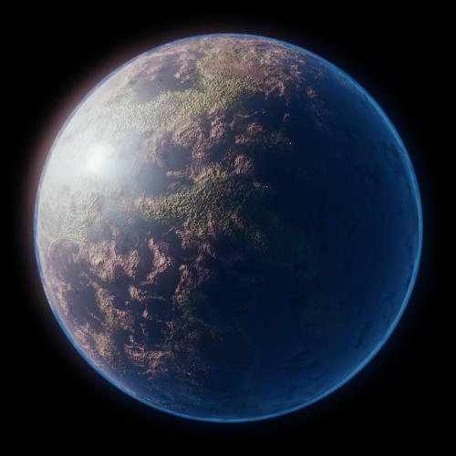 b3dplanetgen  Blender Planet Generator