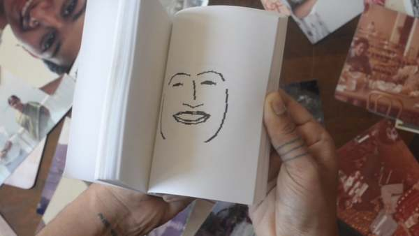 flipbook of face 'landmarks' found by algorithm