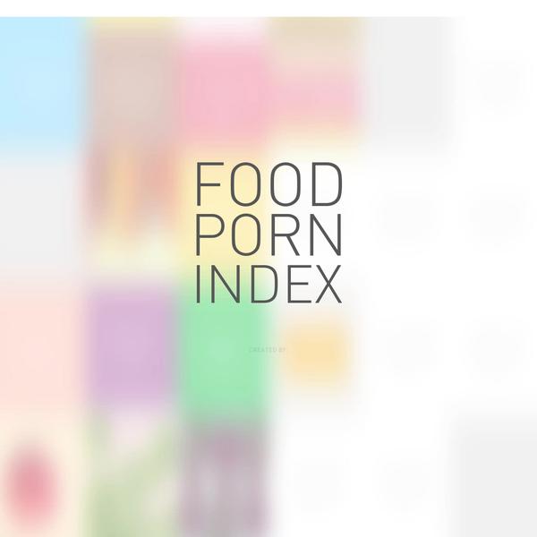 The Food Porn Index - Bolthouse Farms