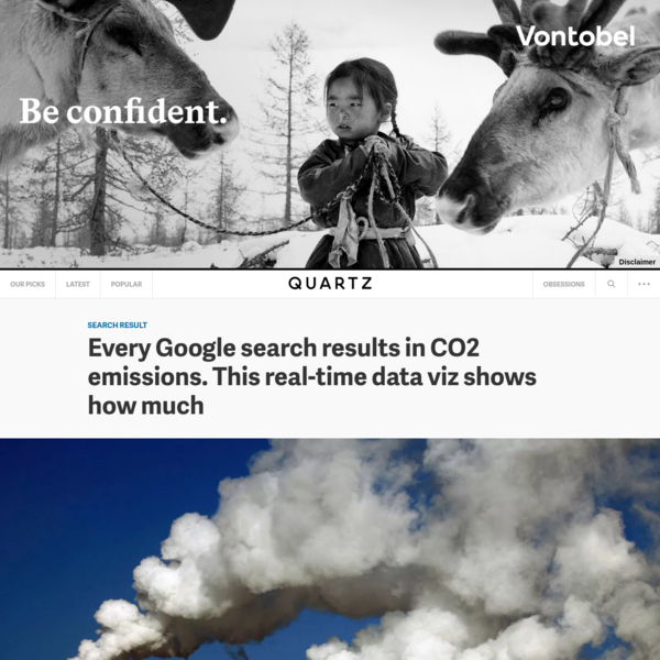 """Every Google search comes at a cost to the planet. In processing 3.5 billion searches a day, the world's most popular website accounts for about 40% of the internet's carbon footprint. Despite the notion that the internet is a """"cloud,"""" it actually relies on millions of physical servers in data centers around the world, which are..."""