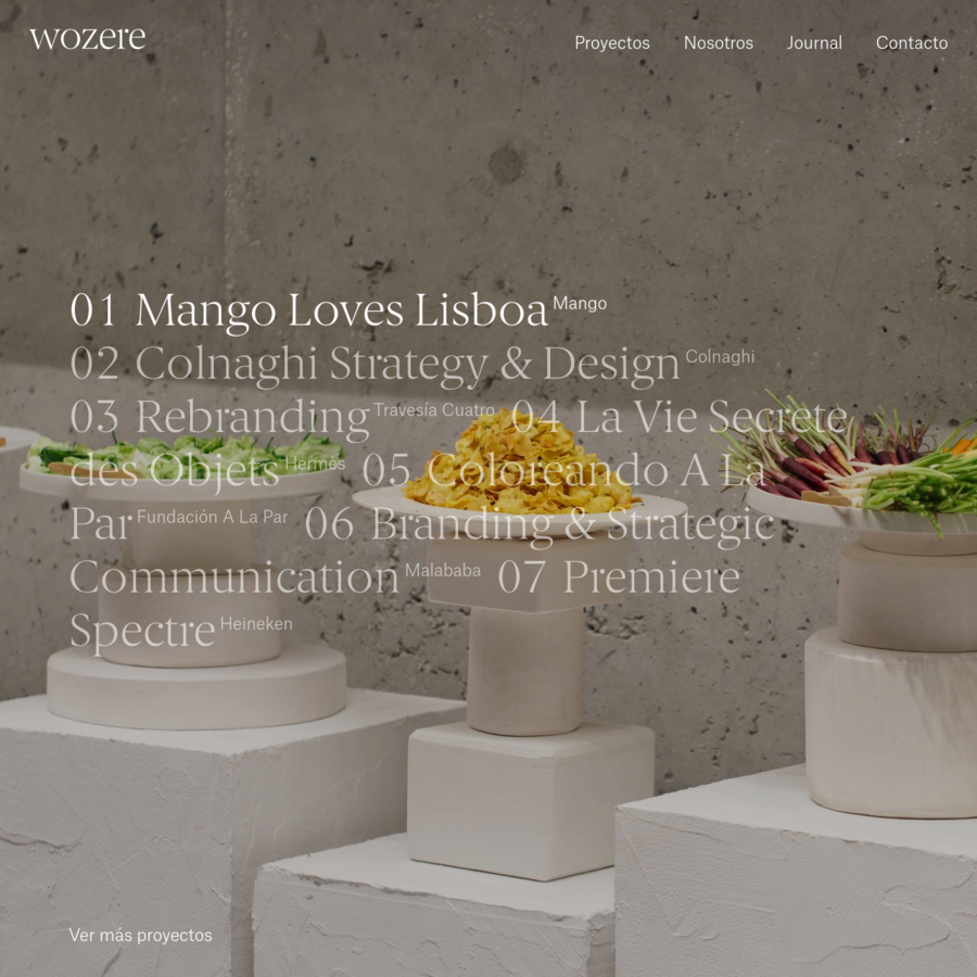 We shape narratives that define the identity of the companies we team up with, transforming their grounds and opening a wide spectrum of paths to be explored. On print, digital, at every event, on every platform: wozere makes things happen.
