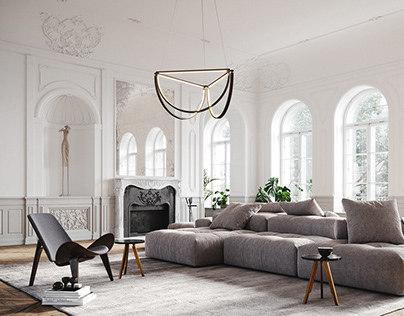 AlexAllen Lighting + Furniture | Classical Apartment