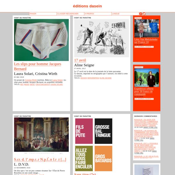 Structure d'édition de projets artistiques (textes, musiques, images, vidéo...) conçus spécifiquement pour la publication.