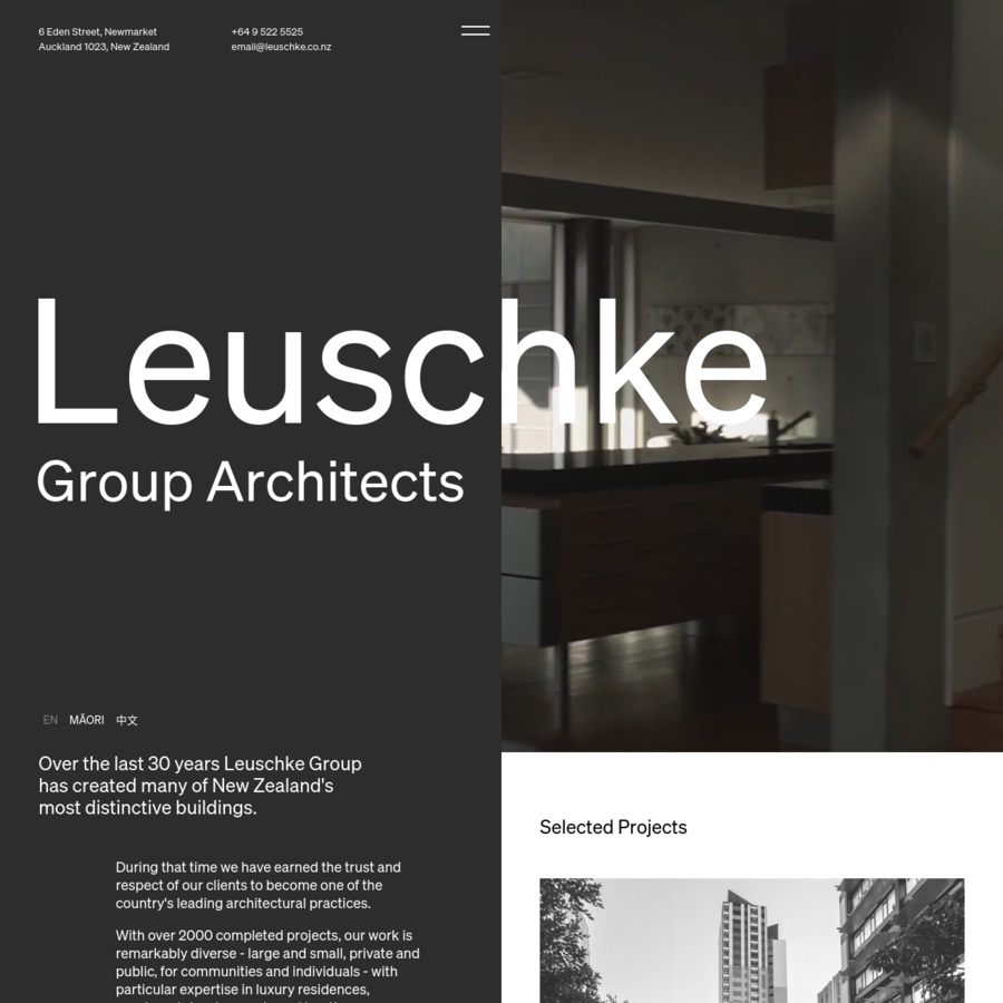 We are award winning, client focused Auckland architects creating some of New Zealand's most distinctive houses, apartments and commercial buildings.