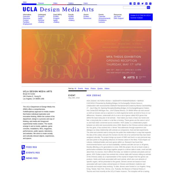 UCLA Design Media Arts