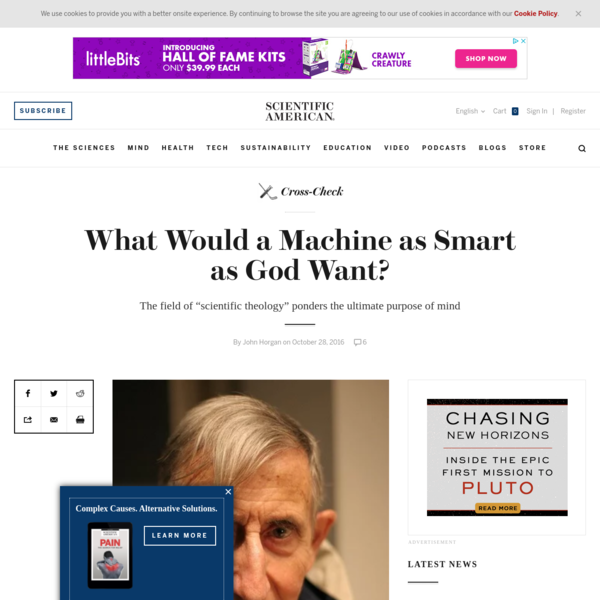 What Would a Machine as Smart as God Want?