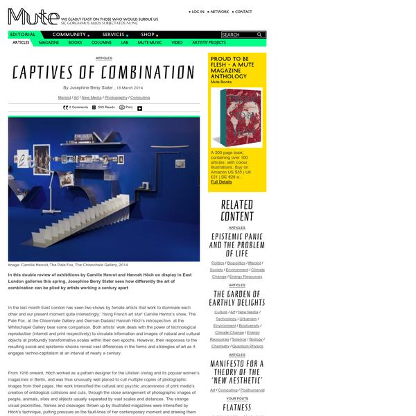 Captives of Combination