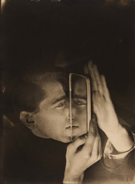 Albert Braun with Mirror by Lotte Stam-Beese (1928)
