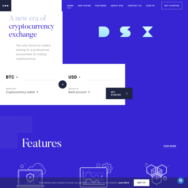 Trade at DSX - A new era of cryptocurrency exchange