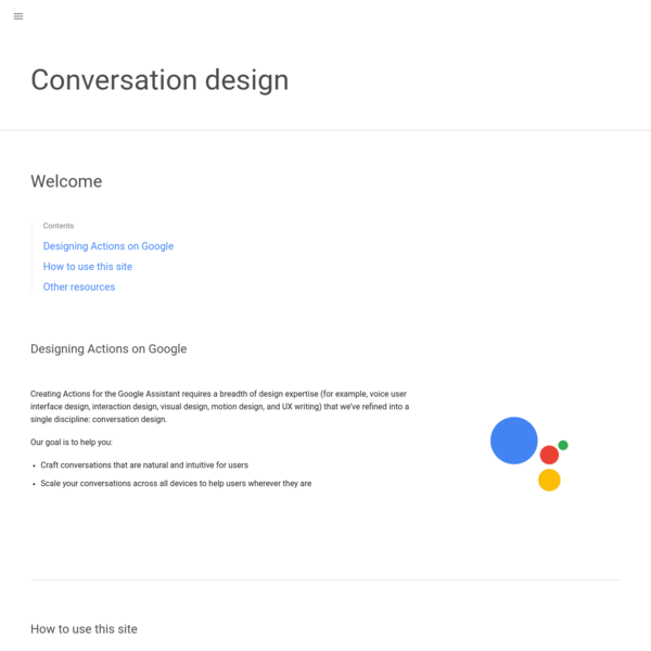 Craft conversations that are natural and intuitive for users Scale your conversations across all devices to help users wherever they are Where you start and what you focus on depends on what you already know and where you are in the development process of your Action.