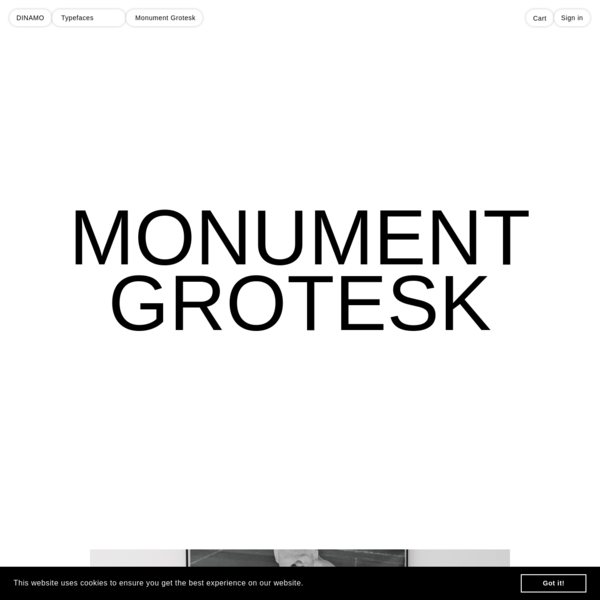 Monument Grotesk owes its point de départ to a few contours Kasper-Florio stumbled upon online in 2013 in Palmer & Rey's New Specimen Book, 1884, on page 81. It relied on a sturdy and compact skeleton, high vertical contrast and surprisingly sharp end strokes.