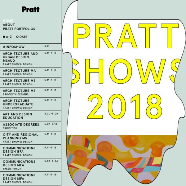 PrattShows 2018